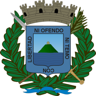 Uruguayan football league system - Image: Coat of arms of Montevideo Department