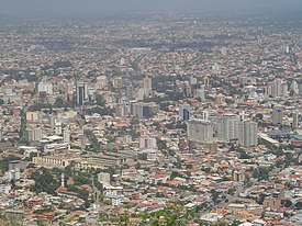 Vista aérea de Cochabamba