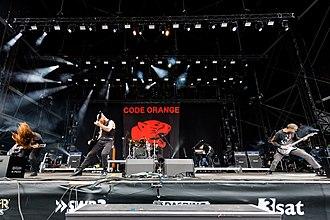 Code Orange (band) - Image: Code Orange 2017155145128 2017 06 04 Rock am Ring Sven 5DS R 0084 5DSR0375