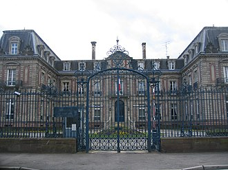 Haut-Rhin - Prefecture building of the Haut-Rhin department, in Colmar