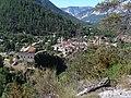 Colmars - Vue d'ensemble, au premier plan le fort de Savoie.JPG