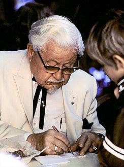 Colonel Harland Sanders in character.jpg