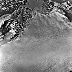 Columbia Glacier, Calving Glacier Edge, Terminus, January 19, 1977 (GLACIERS 1305).jpg