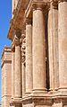 Columnes de la façana de l'església de sant Miquel dels Reis.JPG