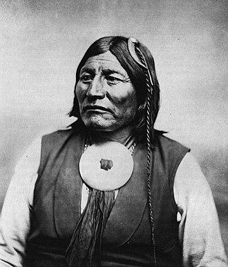 Mow-way - Image: Comanche chief