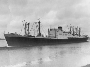 Combined ship MS Hessenstein of the North German Lloyd in East Asia Service - 1954-55.png