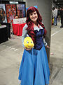 Comikaze Expo 2011 - Ariel and Flounder from the Little Mermaid (6324629917).jpg