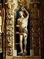 Commana (29) Église Saint-Derrien Retable des cinq plaies 07.JPG