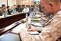 Conducting an assessment for Gen. Stanley A. McChrystal, Commander International Security Assistance Force, Afghanistan, Kimberly Kagan (4374855483).jpg