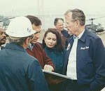 Congresswoman Pelosi Tours the Aftermath of the Loma Prieta Earthquake (7677797220) (cropped).jpg