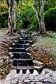 Connemara - Kylemore Abbey - Cascading stream - geograph.org.uk - 1630207.jpg