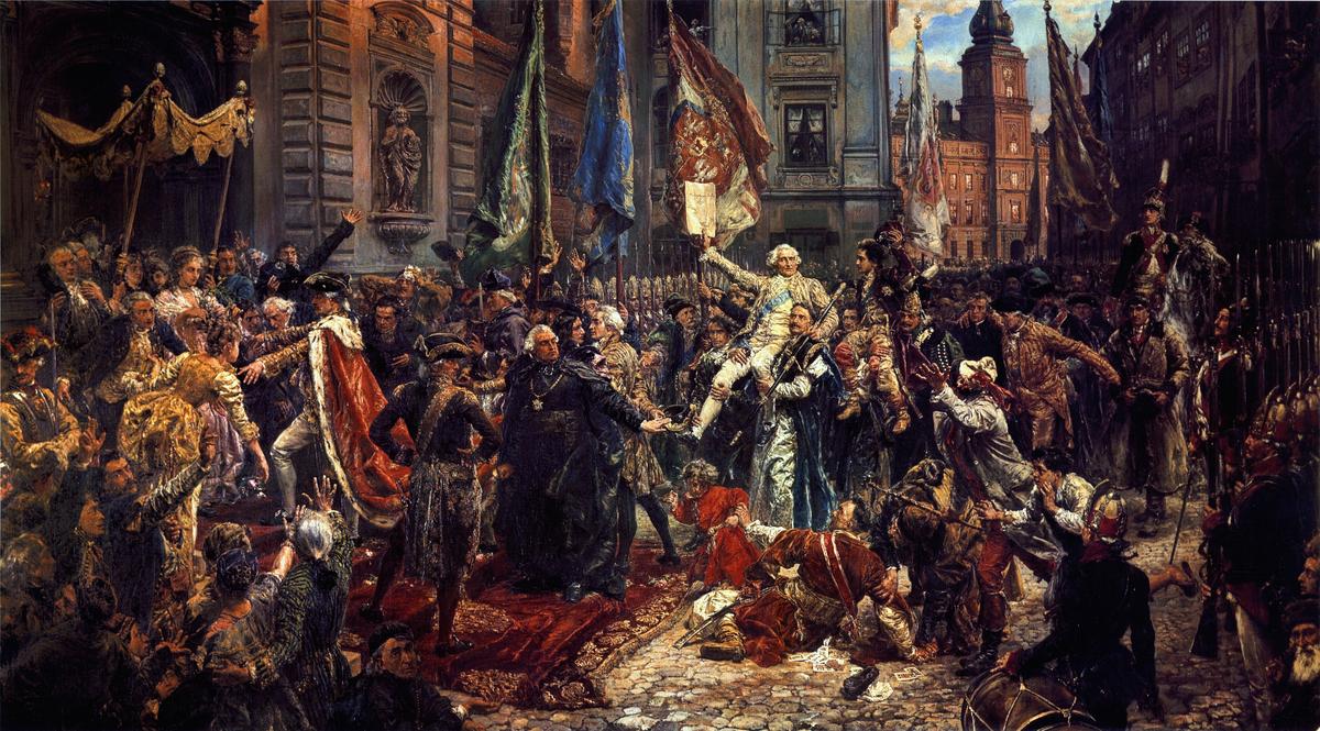 Konstytucja 3 Maja 1791 roku – Wikipedia, wolna encyklopedia