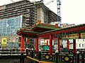 Construction site combined with entrance of a Chinese restaurant, Oosterdokseiland; Amsterdam, 2006.jpg