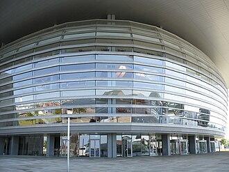 Copenhagen Opera House - Opera House entrance