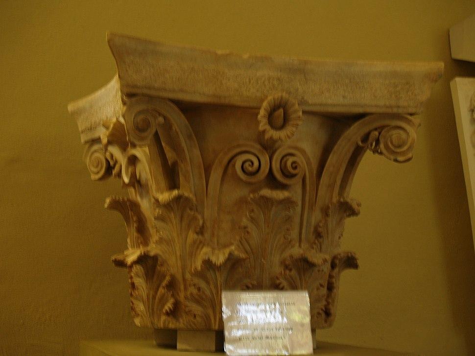 Corinthian capital - Archaeological Museum of Epidaurus