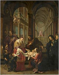 Cornelis Schut - The cleansing of Maria in the temple.jpg