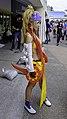Cosplayer of Rikku, Final Fantasy X-2 at FF26 20150830a.jpg