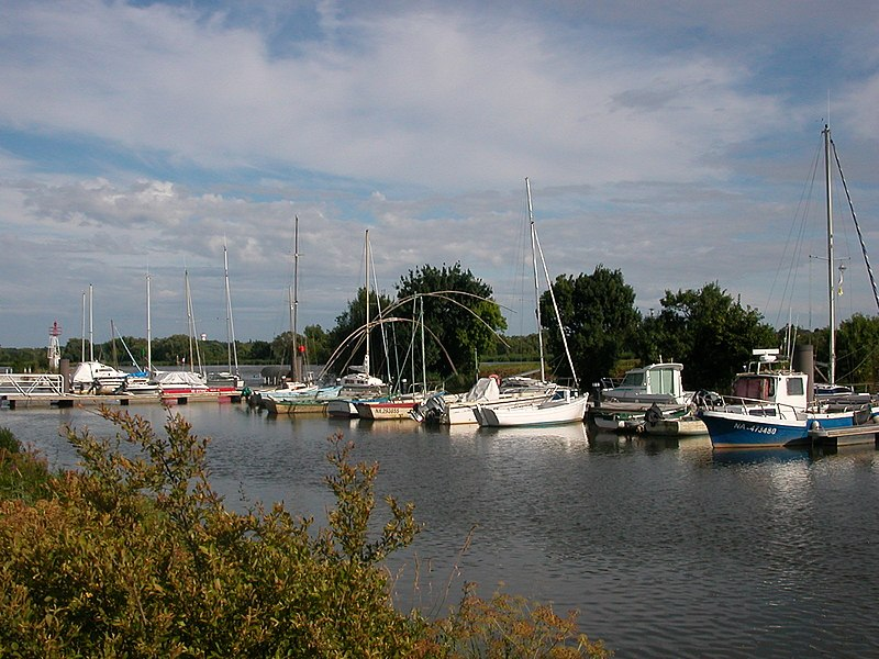 Port of Couëron on the Loire River