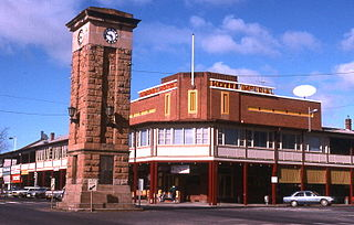 Coonabarabran Town in New South Wales, Australia