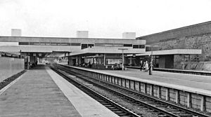 Coventry railway station - Coventry station in 1962, shortly after being rebuilt