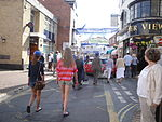 Cowes High Street during Cowes Week 2011 2.JPG