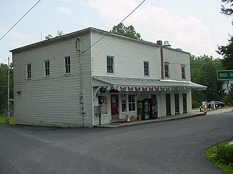Kirby, West Virginia - Cox's Store in Kirby