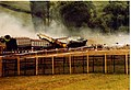 Crash test of nuclear waste flask Old Dalby 17 July 1984 (6) - geograph.org.uk - 543087.jpg