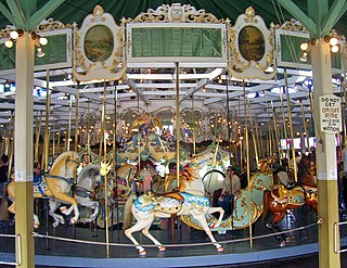 Crescent Park Looff Carousel United States historic place