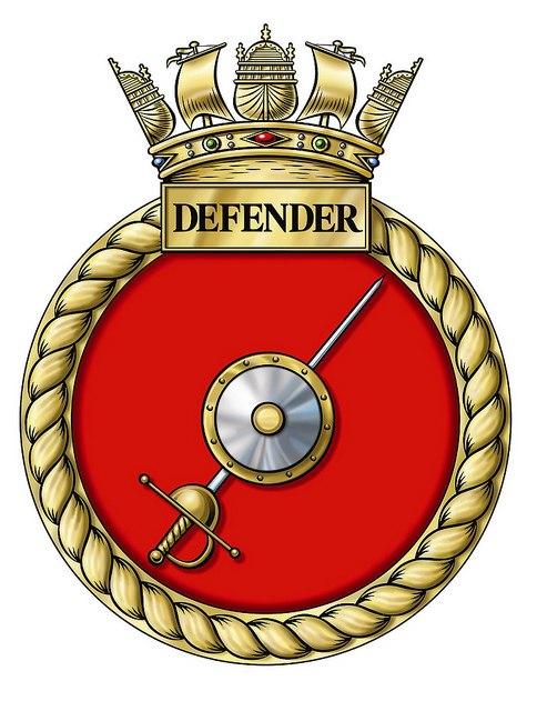 Crest of HMS Defender