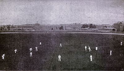 Cricket, WG Grace, 1891- Field placed for slow round-arm bowling.jpg