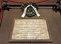 Cripta di san lorenzo, tomba di donatello 02.JPG