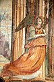 Cristo risotto con angelia, affresco della scuola del riccio, xvi secolo, chiesa di Sant'Agostino (Massa Marittima) 02.jpg
