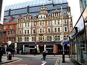 Grants of Croydon - Image: Croydon Facade of Grant's Department Store geograph.ie 1775505