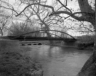 Crum Road Bridge bridge in United States of America