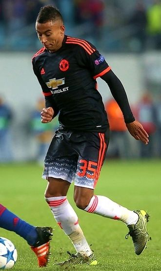 Jesse Lingard - Lingard playing for Manchester United in 2015