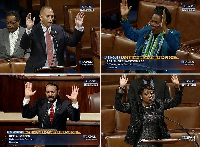 File:Cspan hands up don't shoot.jpg