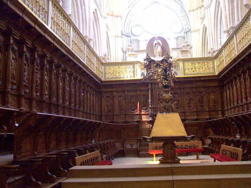Cuenca, catedral, coro.jpg