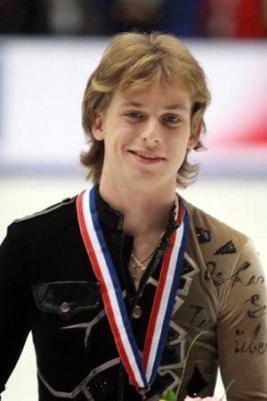 Sergei Voronov (figure skater) - Voronov in 2009.