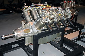 Curtiss OX-5 - Preserved OX-5 engine