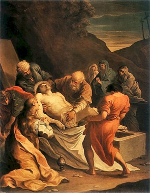 Szymon Czechowicz - The Entombment, before 1731