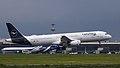 D-AISQ A321 Lufthansa Mannschaftsflieger Fahnhansa livery VKO UUWW (41859330865).jpg