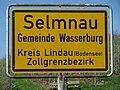 D-BY-Wasserburg (B)-Selmnau-Ortseingangsschild.JPG