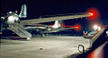 DC-4s at Oakland Airport at night (4443020861).jpg