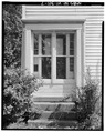 DETAIL OF FORMER SOUTH ENTRANCE - A. B. Jackson House, State Trunk Highway 50, Bristol, Kenosha County, WI HABS WIS,30-BRIS,1-7.tif