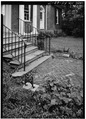 DETAIL OF MAIN ENTRANCE STEPS - Ridgeway, 4095 Massey Avenue, Saint Matthews, Jefferson County, KY HABS KY,56-SAMA,2-21.tif