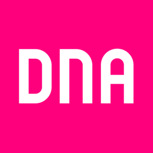 DNA Oyj - Image: DNA emblem pink RGB copy copy