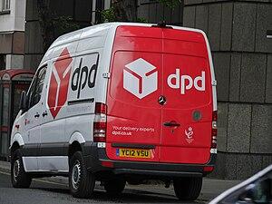 Dynamic Parcel Distribution - DPD delivery van in London