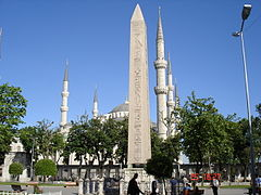 L'Obelisco di Teodosio a Istanbul.