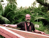 Daniel Dennett in Tahiti in 1984