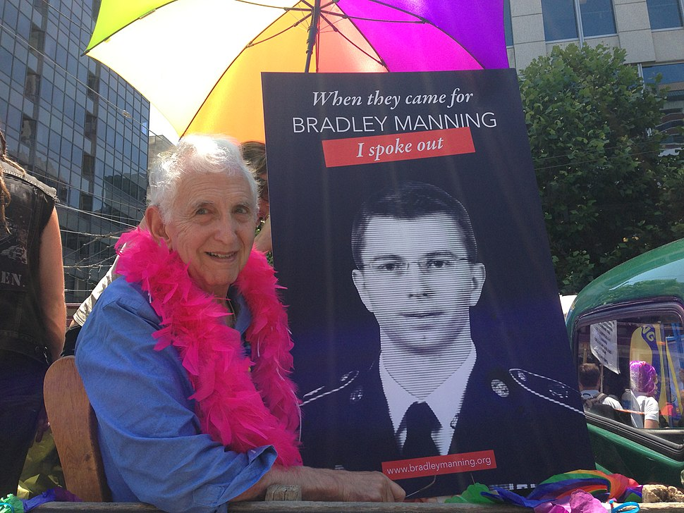 Daniel Ellsberg at San Francisco Pride Parade 2013.